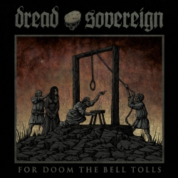 DREAD SOVEREIGN - For Doom the Bell Tolls (DARK RED 12''LP)