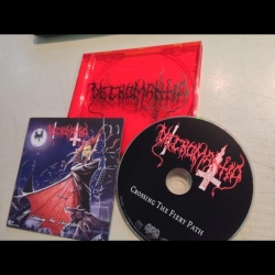 NECROMANTIA - Crossing The Fiery Path  (LIMITOWANA EDYCJA CD)